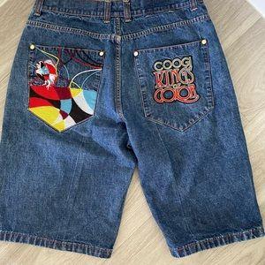 Coogi Men's Jean Shorts
